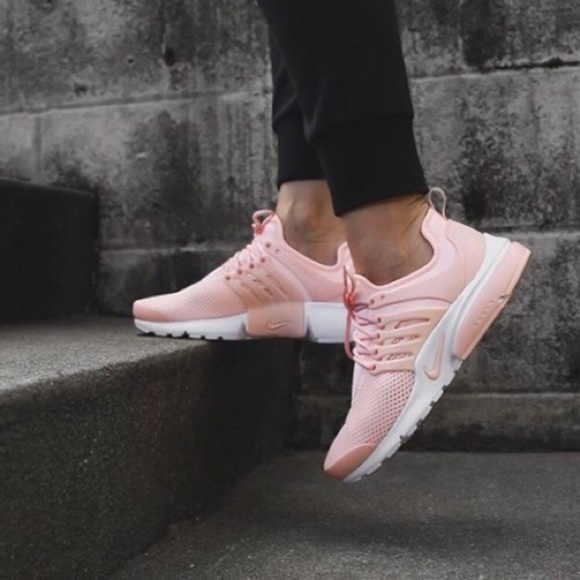 pretty nice 1a56b ea72e ... textile fibres 9d8c6 da098  where can i buy nwot rare nike air presto  womens sneakers in pink d5652 d67c7